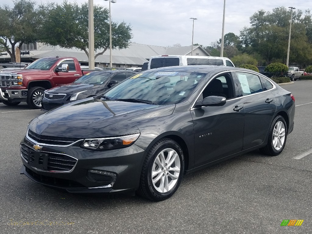 Nightfall Gray Metallic / Jet Black Chevrolet Malibu LT