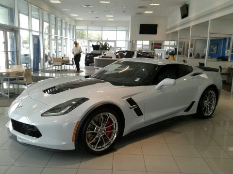 Ceramic Matrix Gray Metallic 2019 Chevrolet Corvette Grand Sport Coupe