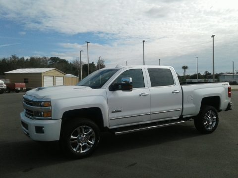 Iridescent Pearl Tricoat 2019 Chevrolet Silverado 2500HD High Country Crew Cab 4WD