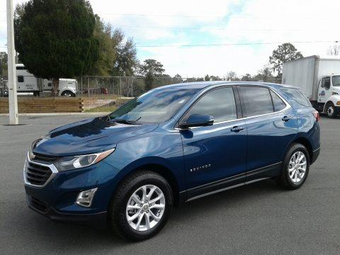 Pacific Blue Metallic 2019 Chevrolet Equinox LT
