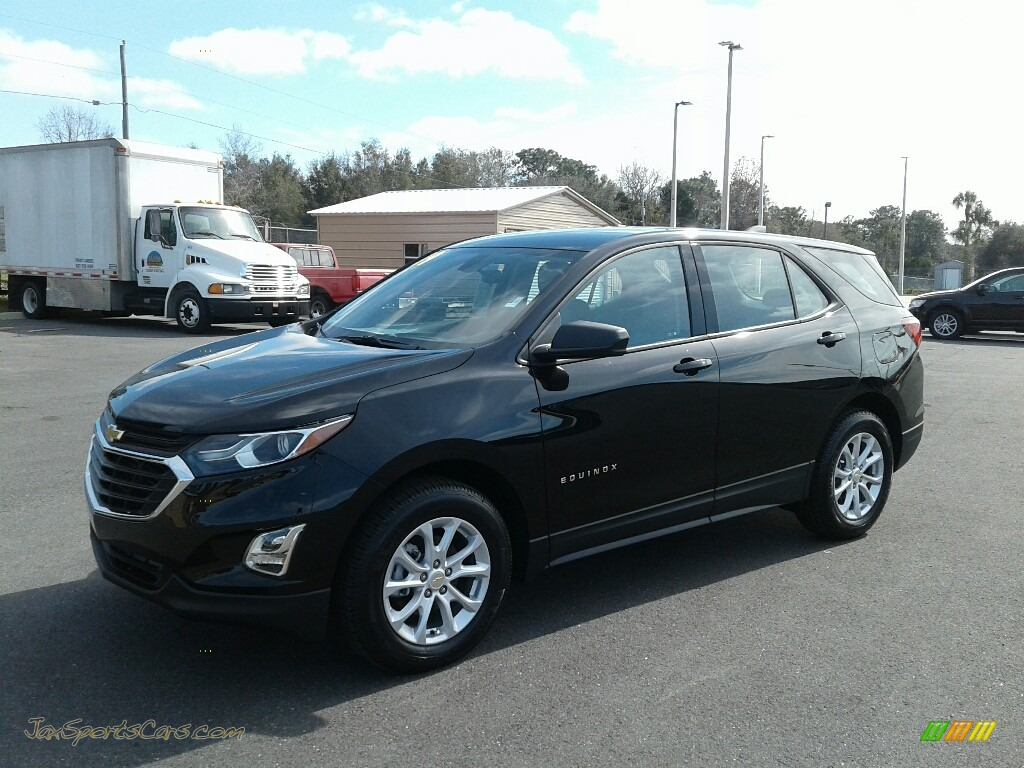 2019 Equinox LS - Mosaic Black Metallic / Medium Ash Gray photo #1