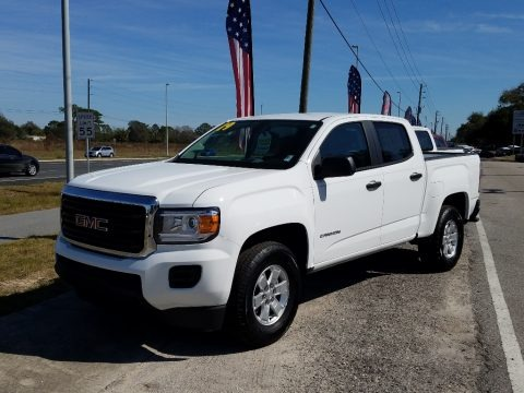 Summit White 2019 GMC Canyon Crew Cab