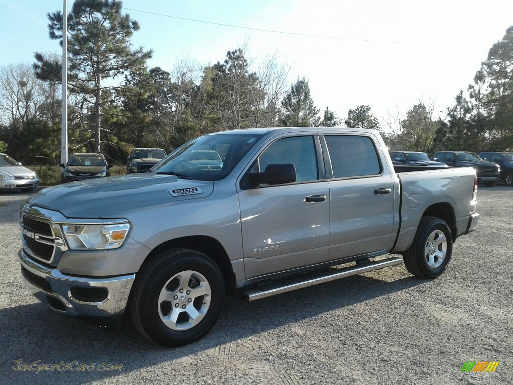 Billett Silver Metallic / Black Ram 1500 Tradesman Crew Cab