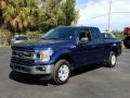 Ford F150 XLT SuperCab Blue Jeans photo #1