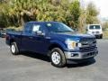 Ford F150 XLT SuperCab Blue Jeans photo #7