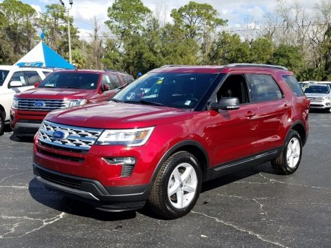 Ruby Red 2019 Ford Explorer XLT