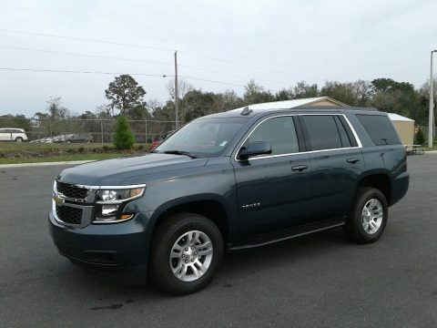 Shadow Gray Metallic 2019 Chevrolet Tahoe LS