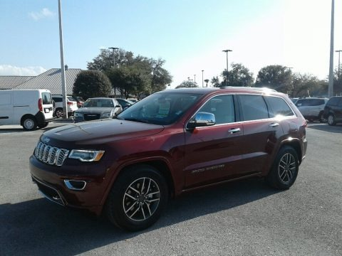 Velvet Red Pearl 2019 Jeep Grand Cherokee Overland 4x4