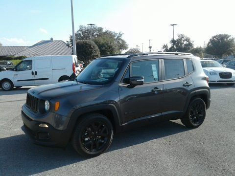 Granite Crystal Metallic 2018 Jeep Renegade Altitude