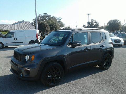 Granite Crystal Metallic 2019 Jeep Renegade Latitude