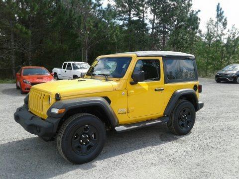 Hellayella 2019 Jeep Wrangler Sport 4x4