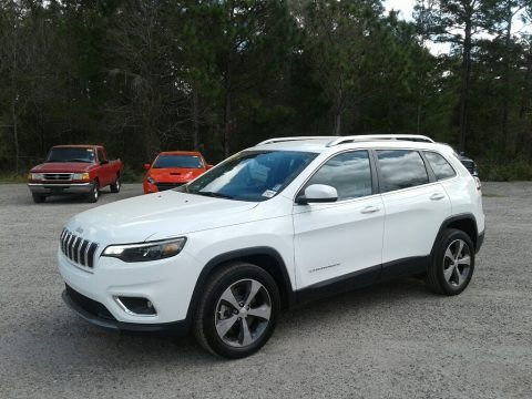 Bright White 2019 Jeep Cherokee Limited