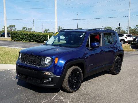 Jetset Blue 2017 Jeep Renegade Latitude