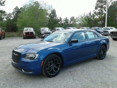 Ocean Blue Metallic 2019 Chrysler 300 Touring