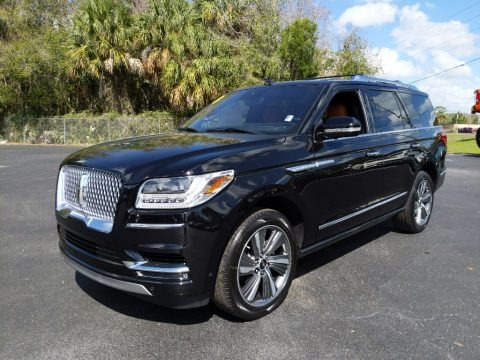 Infinite Black Metallic 2019 Lincoln Navigator Reserve 4x4