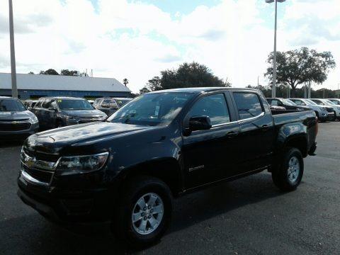Black 2019 Chevrolet Colorado WT Crew Cab 4x4