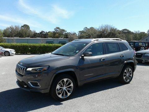 Granite Crystal Metallic 2019 Jeep Cherokee Overland 4x4