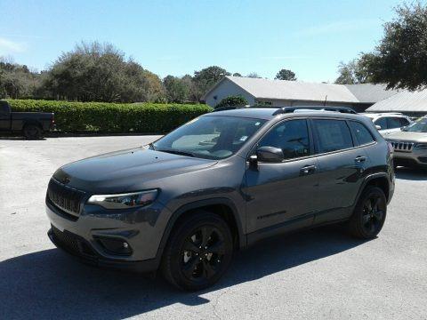 Granite Crystal Metallic 2019 Jeep Cherokee Latitude Plus