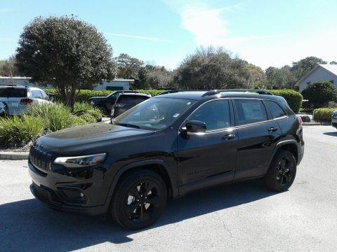 Diamond Black Crystal Pearl 2019 Jeep Cherokee Latitude Plus