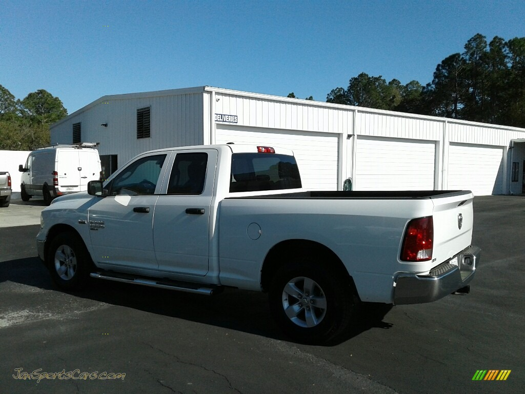 2019 1500 Classic Tradesman Quad Cab - Bright White / Black/Diesel Gray photo #3