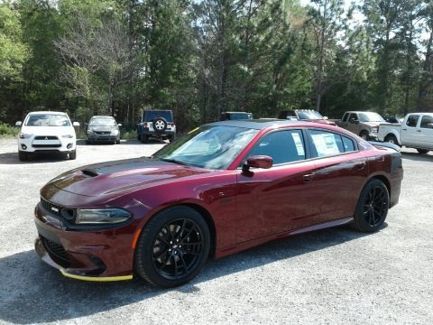Octane Red Pearl 2019 Dodge Charger Daytona 392