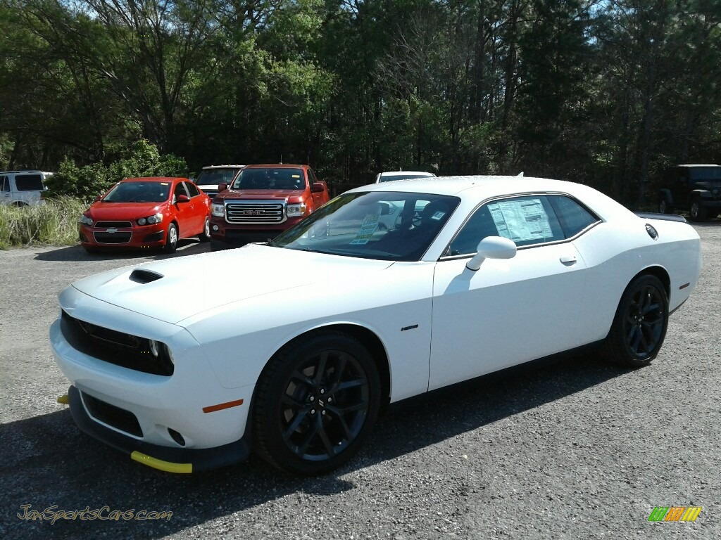2019 Challenger R/T - White Knuckle / Black photo #1