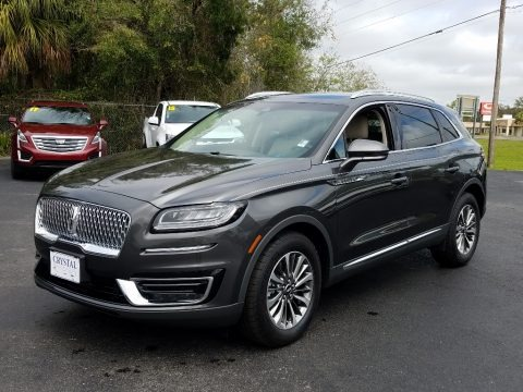 Magnetic Gray 2019 Lincoln Nautilus Select