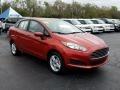 Ford Fiesta SE Sedan Hot Pepper Red photo #7