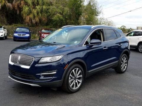 Rhapsody Blue Metallic 2019 Lincoln MKC Reserve
