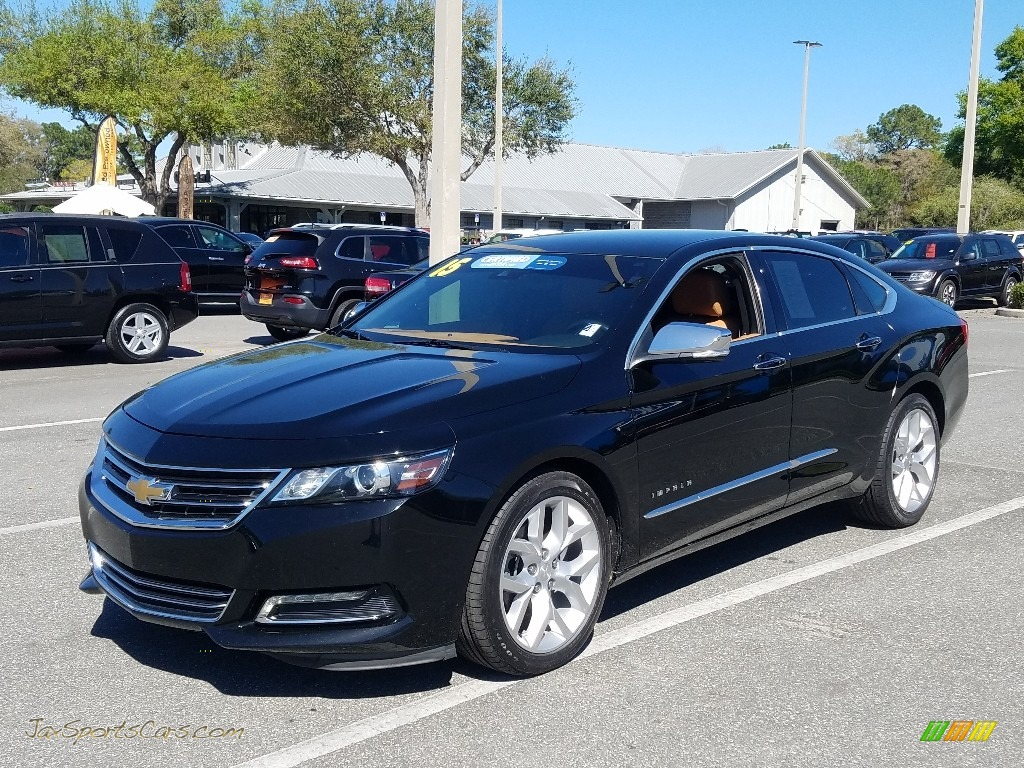 2015 Impala LTZ - Black / Jet Black/Mojave photo #1