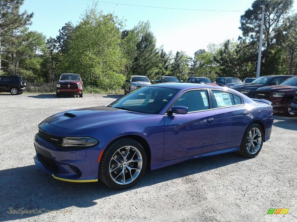 2019 Charger GT - Plum Crazy Pearl / Black photo #1
