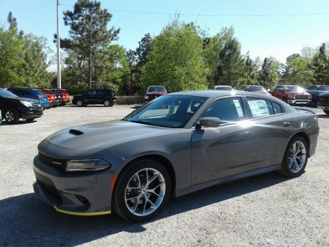 Destroyer Gray 2019 Dodge Charger GT