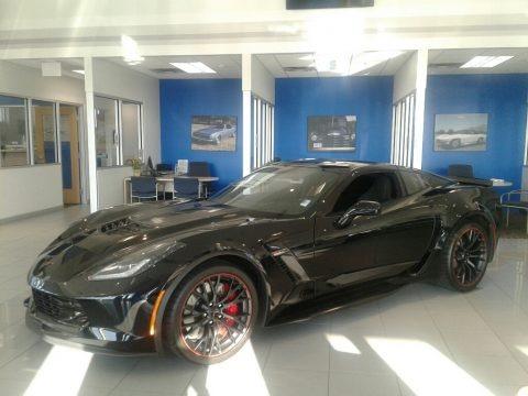 Black 2019 Chevrolet Corvette Z06 Coupe