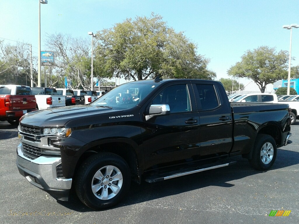 2019 Silverado 1500 LT Double Cab - Havana Brown Metallic / Jet Black photo #1