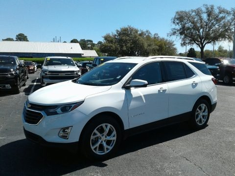 Summit White 2019 Chevrolet Equinox LT