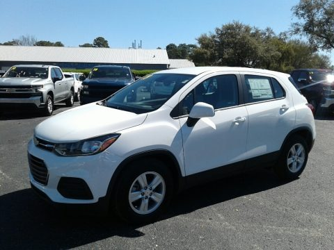 Summit White 2019 Chevrolet Trax LS