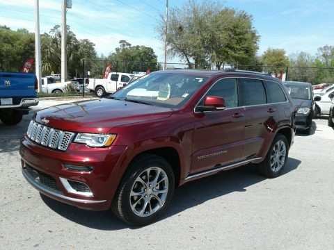 Velvet Red Pearl 2019 Jeep Grand Cherokee Summit 4x4