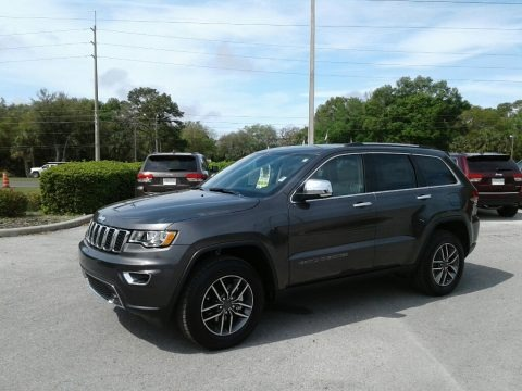 Granite Crystal Metallic 2019 Jeep Grand Cherokee Limited
