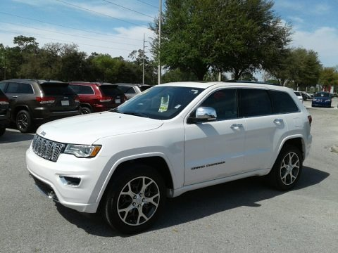 Ivory 3-Coat 2019 Jeep Grand Cherokee Overland