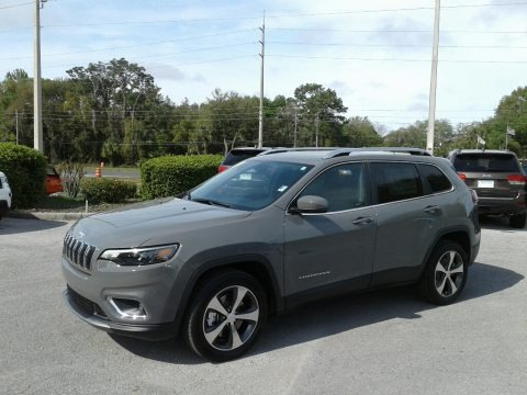 Sting-Gray 2019 Jeep Cherokee Limited