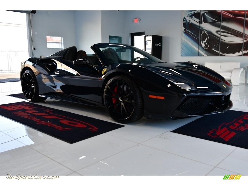 2016 488 Spider  - Nero Daytona Metallic / Nero (Black) photo #1