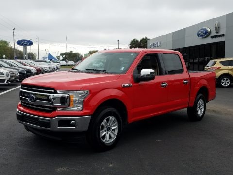 Race Red 2018 Ford F150 XLT SuperCrew
