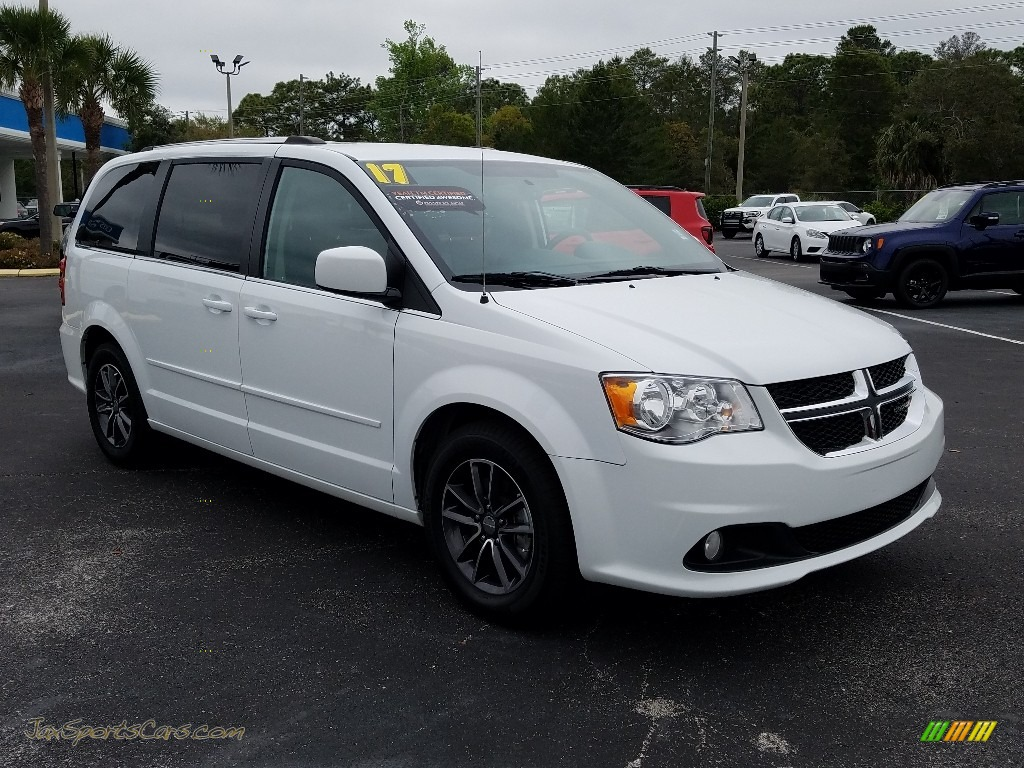 2017 Grand Caravan SXT - White Knuckle / Black/Light Graystone photo #7