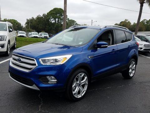 Lightning Blue 2019 Ford Escape Titanium