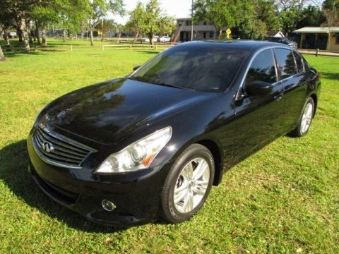 Black Obsidian 2013 Infiniti G 37 Journey Sedan