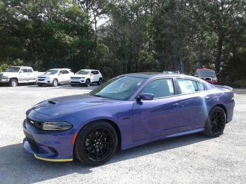 Plum Crazy Pearl 2019 Dodge Charger R/T Scat Pack