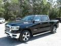 Ram 1500 Laramie Crew Cab 4x4 Diamond Black Crystal Pearl photo #1