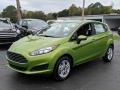 Ford Fiesta SE Hatchback Outrageous Green photo #1