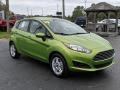 Ford Fiesta SE Hatchback Outrageous Green photo #6