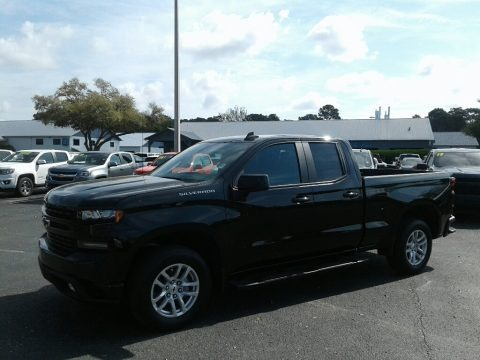 Black 2019 Chevrolet Silverado 1500 RST Double Cab